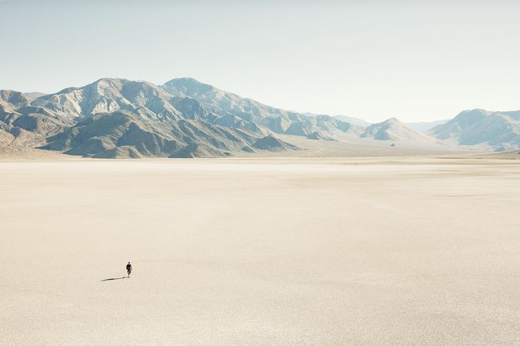 The 'Racetrack', Death Valley National Park, California