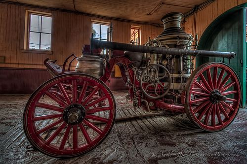 The Old Fire Pumper