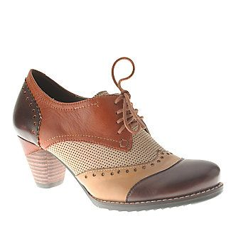 "L'Artiste by Spring Step ""Bardot"" Oxford Pumps, the perfect shoe for a teacher!Step Women, Step Bardot, Spring Step, Shoese Boots, Ankle Boots, Woman, Multi Leather, Brown Multi, Bardot Springstep"