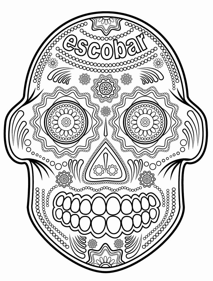 Scary Shark Coloring Pages Lovely Coloring Pages Skull ...