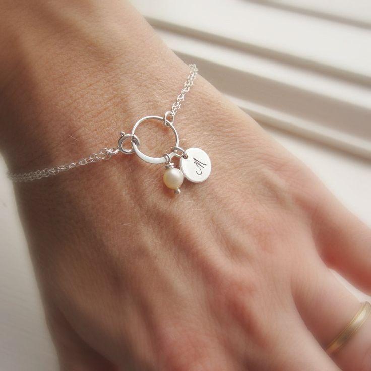 Damigella d'onore bracciale braccialetto di di KGarnerDesigns, $26,00