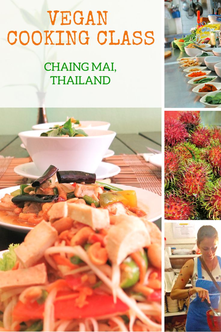 Vegan Cooking Class in Chiang Mai, Thailand - My article about taking a vegan cooking class in Thailand. #vegantravel
