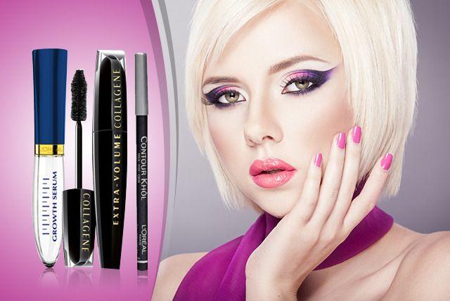 3pc L'Oreal Makeup Set