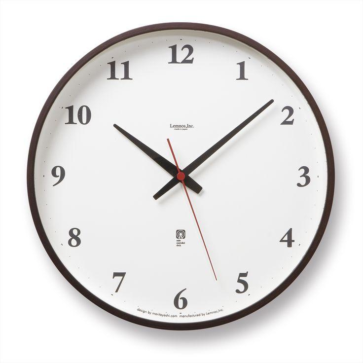 正確な時刻を表示してくれて安心な電波時計。スタイルストア専属のバイヤーが、6つのこだわりの選定基準で選んだ「Lemnos/電波時計 Plywood clock ブラウン 大」の通信販売ができる紹介ページです。