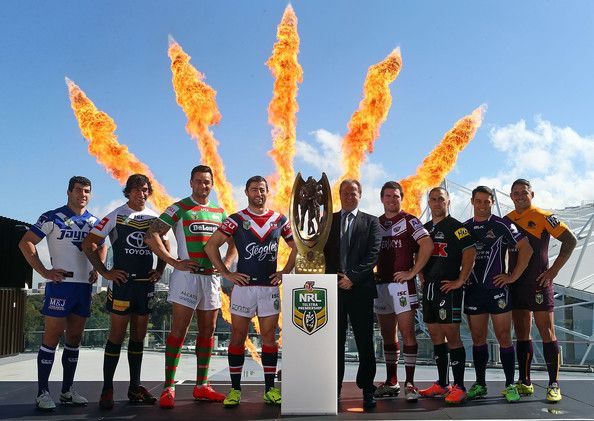 Cooper Cronk Photos: 2014 NRL Finals Series Launch