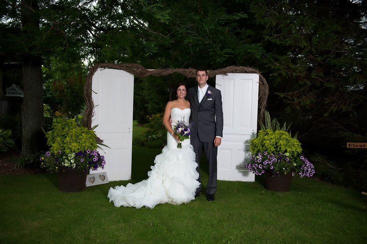 Wedding entrance, door, aisle entrance