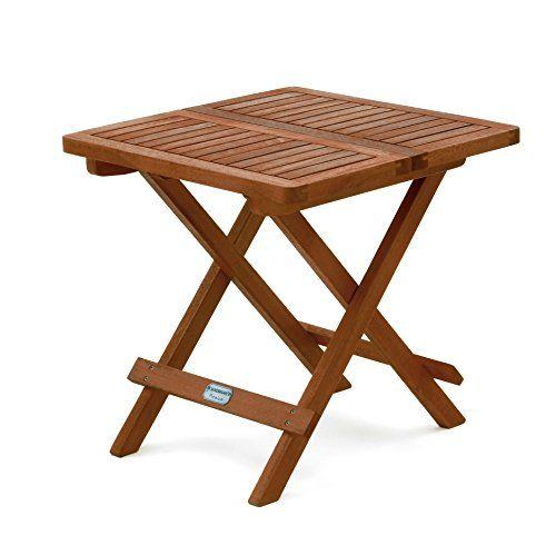 Beistelltisch Holz Klappbar ~ BELARDO MINOA Beistelltisch Holz Kaffeetisch Klapptisch 50x50cm
