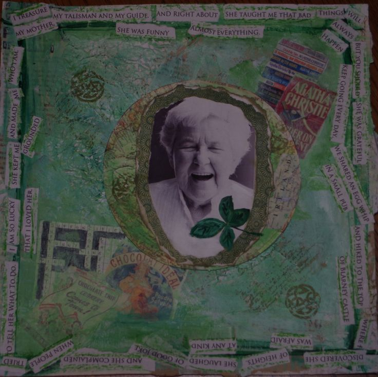 Honour & Celebrate Mom's Memory.    http://sweetmemoryart.com/collections/custom-story-collage-art/products/your-beloveds-story