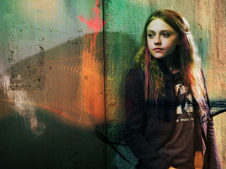 """Dakota Fanning (from the movie """"Push""""). I loved her in this movie!"""