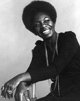 "Day 30: Nina Simone, musical icon and civil rights activist.   ""I would like you to know, I am a doctor of music."""