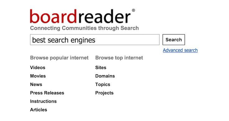 14 alternative search engines to google - YAY!