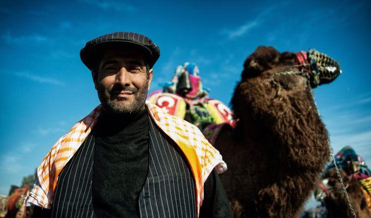 His camel