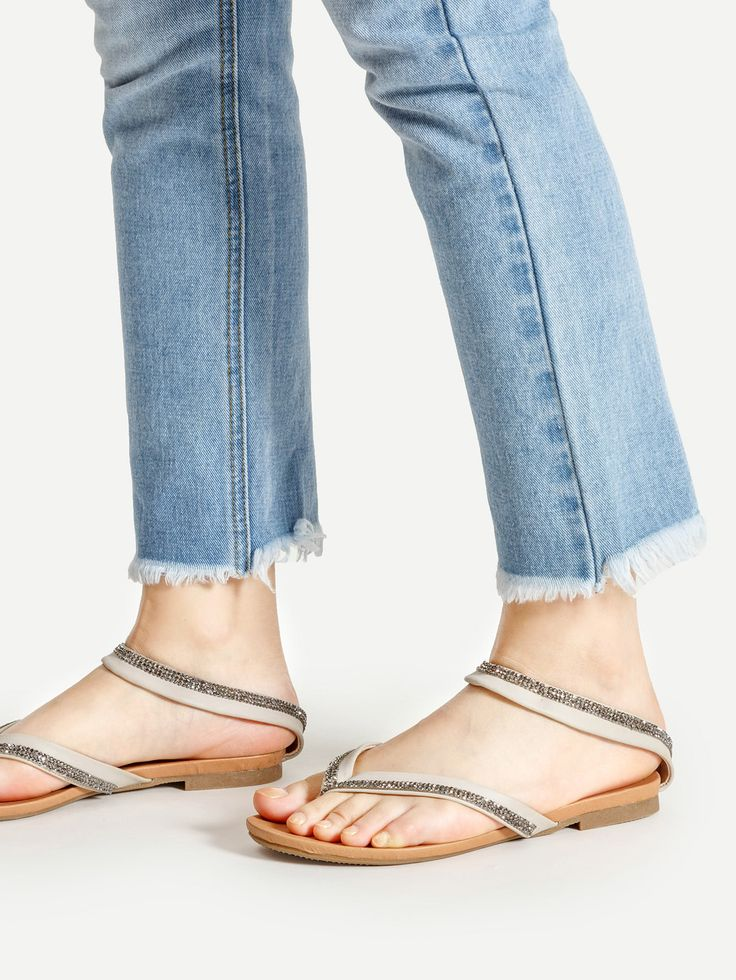 Shop Casual Strappy Flat Sandals online. SheIn offers Casual Strappy Flat Sandals & more to fit your fashionable needs.