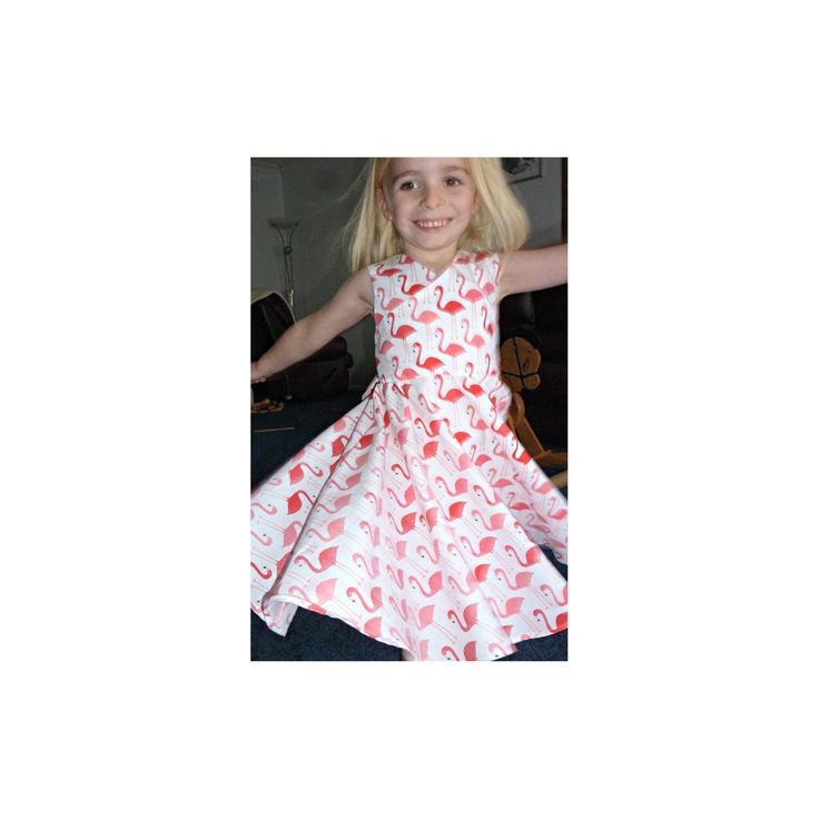 Great for twirling in. @cuddlesclothing A great spring/summer dress for girls up to size 12.