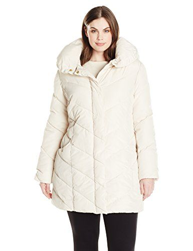 Steve Madden Women's Plus Size Chevron Packable Puffer Jacket - http://www.darrenblogs.com/2017/01/steve-madden-womens-plus-size-chevron-packable-puffer-jacket/