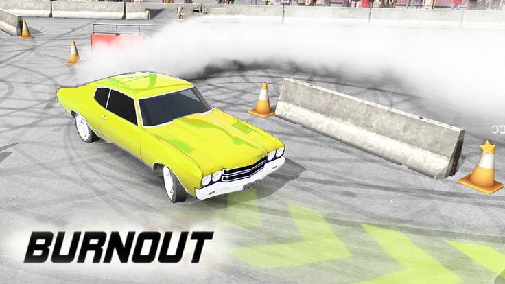 Burnout - Sgommata a ciambella! - Android Nuovo appuntamento con un gioco di corse per Android, ovvero Burnout! In Burnout guideremo tanti veicoli effettuando sgommate di ogni tipo, trick in auto nei vari stage con l'intento di piacere al pu #burnout #android #corse #auto #pimpos