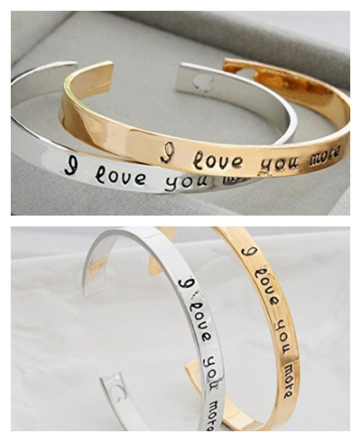 These bracelets are SO cute!! {aff.}