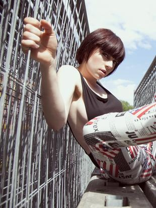 """London Beat""  Model: Catharina B. (Scoop)  Make up: Cecilie Mindegaard"