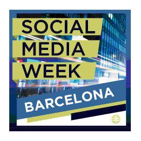 social media week Barcelona. del 25 al 29 de septiembre.