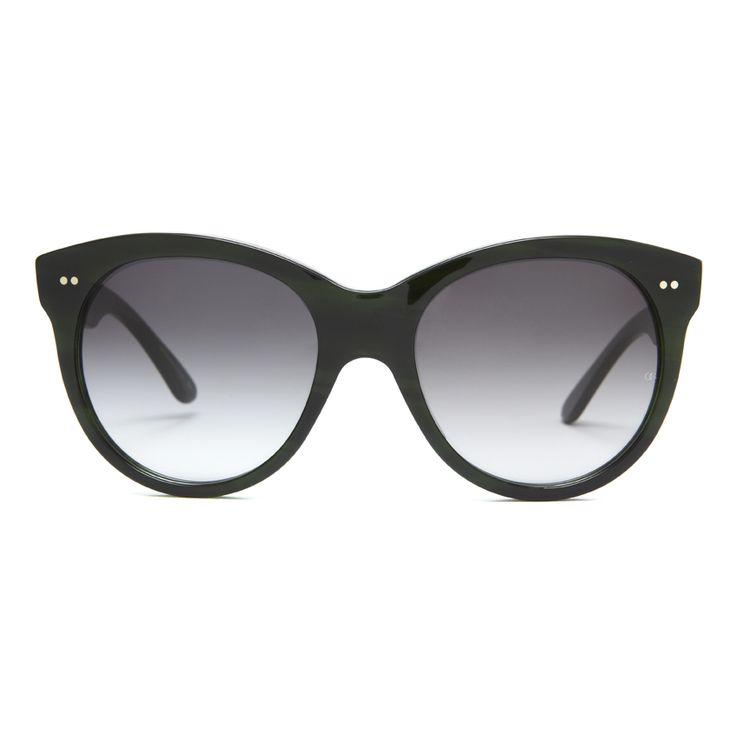 4874696662f9 Manhattan (1960) in Evergreen (an eco friendly acetate) - Oliver Goldsmith  Sunglasses  manhattan  audreyhepburn  breakfa…