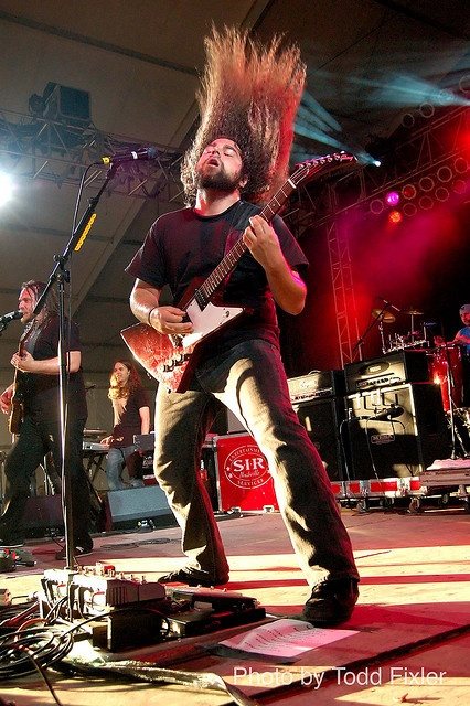 Coheed and Cambria - Claudio Sanchez by TheUniversalCynic, via Flickr