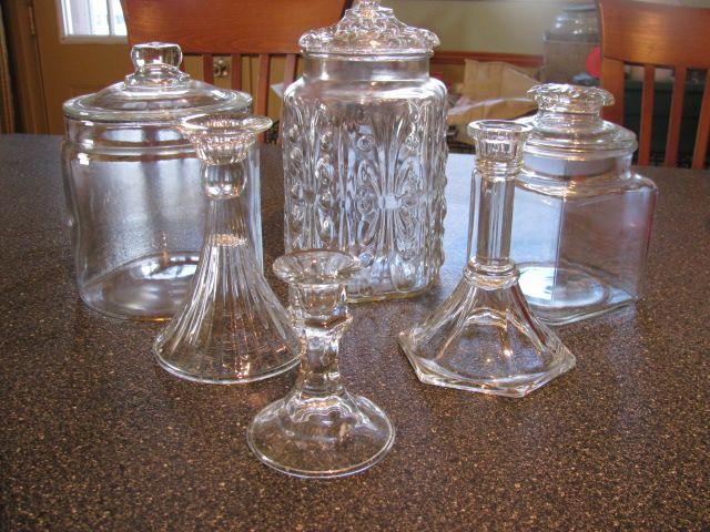 Apothecary Jar DIY - w E6000 glue...see tutorial