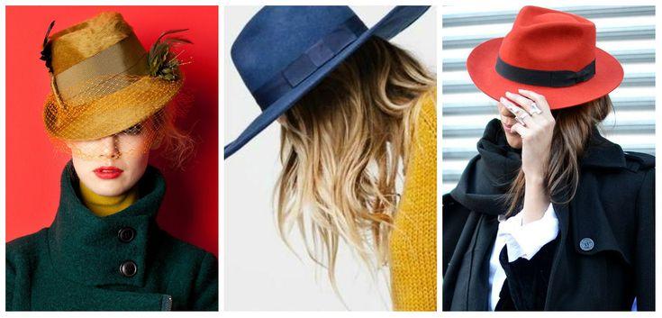 Шляпы бывают разные: синие, желтые, красные...