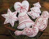 Christmas Bowl Fillers/ Ornaments (Scandinavian Style)