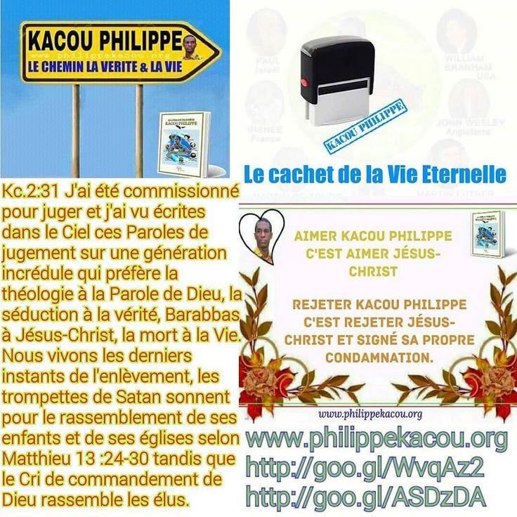 KACOU PHILIPPE EST À LA RESSEMBLANCE DES PROPHÈTES VENUS DE DIEU ET CES QUELQUES EXTRAITS DE LA BIBLIOTHÈQUE DE DIEU DOIVENT VOUS INTERPELLER À LA SAGESSE AFIN QUE VOUS CESSIEZ D'ÊTRE RELIGIEUX POUR VENIR À DIEU.  CESSEZ DE SUIVRE VOS ILLUSIONS ET LES ILLUSIONNISTES HYPOCRITES ET MÉCHANTS.  1/ KACOU PHILIPPE : Kacou 8: 4  Très tôt donc le 09 Janvier j'étais là avec les policiers et gendarmes et déjà la Bible levée contre le palais je criais sans cesse au mégaphone:  C'est ce matin que les…