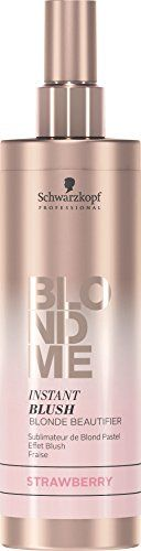 Schwarzkopf Professional BlondMe Instant Blush Blonde Beautifier 250ml Strawberry.