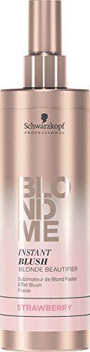 Schwarzkopf Professional BlondMe Instant Blush Blonde Beautifier 250ml Strawberry.