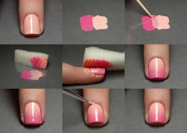 : Nails Art, Nails Design, Pink Nails, Flower Nails, Cool Idea, Nails Polish, Art Nails, Nails Tutorials, Easy Nails