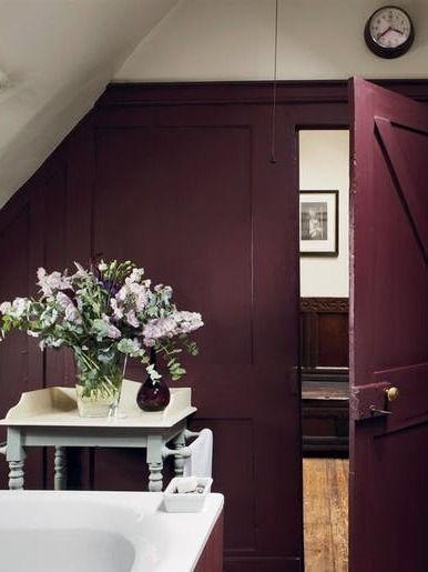 Best 25 plum paint ideas on pinterest plum decor plum bedroom and purple wall paint for Aubergine bathroom accessories