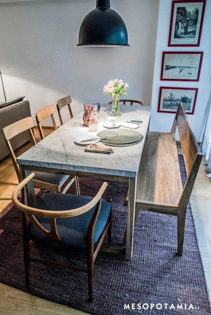17 mejores ideas sobre mesas de comedor de m rmol en - Bases de marmol para mesas de comedor ...