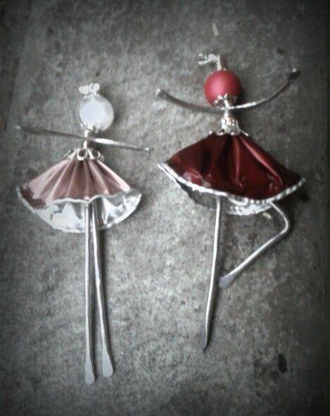 Ballerine alluminio e capsule nespresso
