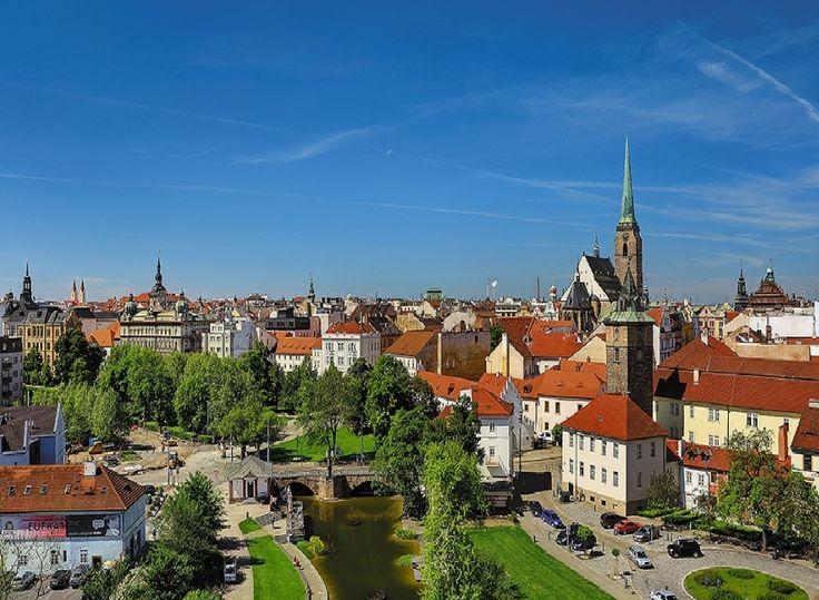 Plzeň - old town (West Bohemia), Czechia #city #pilsen #czechia