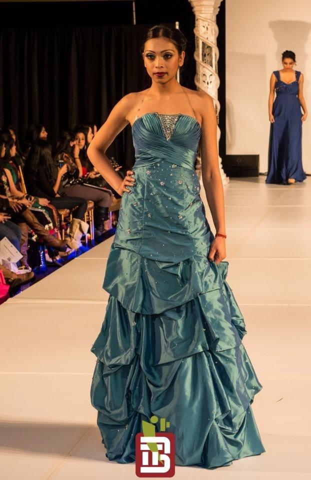 Ohm Bridal Fashion Show 2013  Wearing: Elite Clothing
