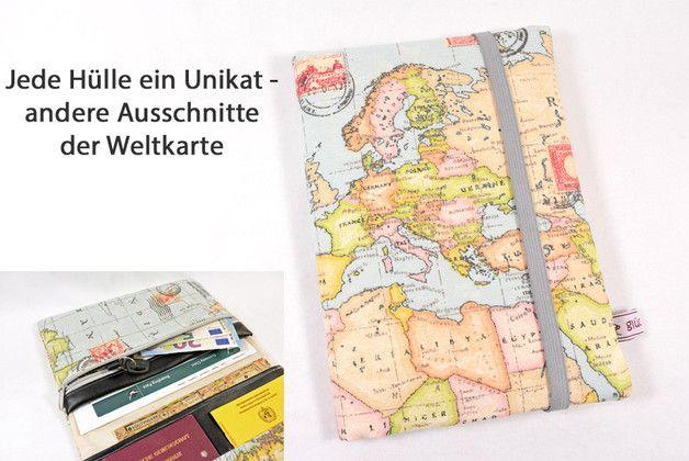 Reiseetui Taschenorganizer Reisepasshülle