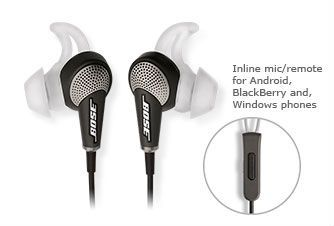 QuietComfort® 20 Acoustic Noise Cancelling® headphones