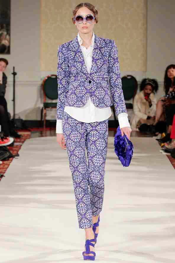 Ethologie patterned suit - LOVE this!