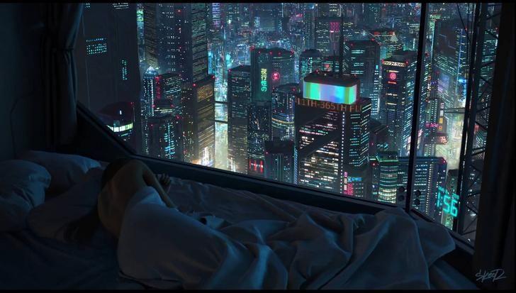 Cool Cyberpunk Room Cyberpunk City Futuristic City Cyberpunk Apartment