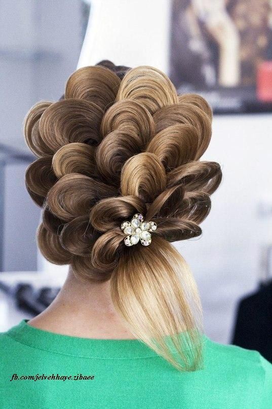 Not sure if I would want this done to my hair, but sure is creative and interesting too..