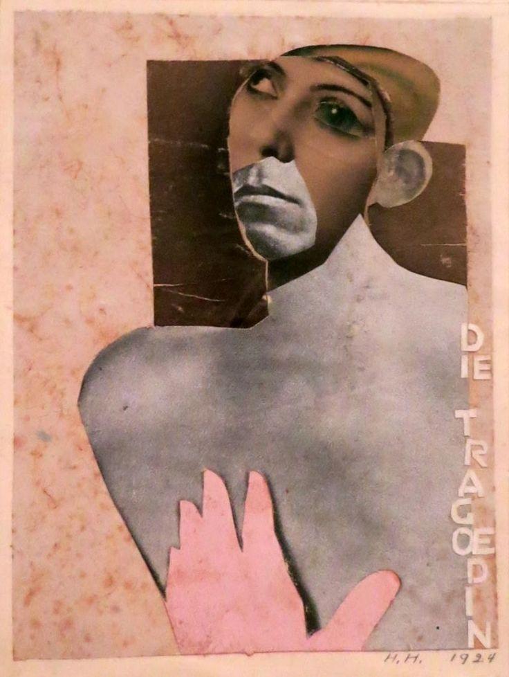 Hannah Hoch, The Tragedienne, 1924.