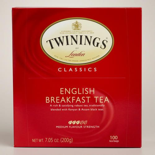 One of my favorite discoveries at WorldMarket.com: Twinings English Breakfast Tea, 100-Count