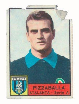 Pizzaballa in 'Calciatori 1963-64', Panini, Modena, 1964