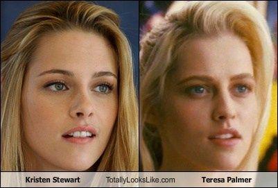 Kristen Stewart Looks Like Teresa Palmer