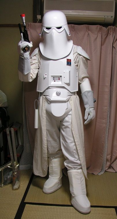 how to make a snowtrooper costume