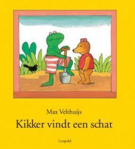 kikker vindt een schat dig. prentenboek