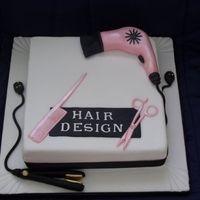 hairdresser cake @Keysha Foster!!!!!!!!!!!!