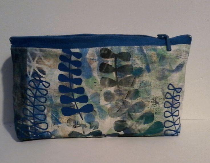 Make-up tassen - etui, make-up - Een uniek product van Textile-meeting-point op DaWanda